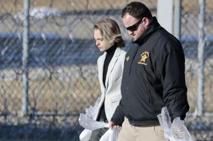 Carter leaves jail