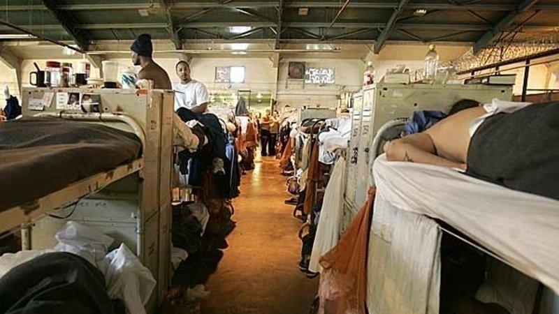 Crowded prison